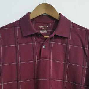 Van Heusen Patterned Short Sleeve Polo Shirt